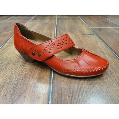Jana 8 24312 24 533 Női piros comfort pántos cipő