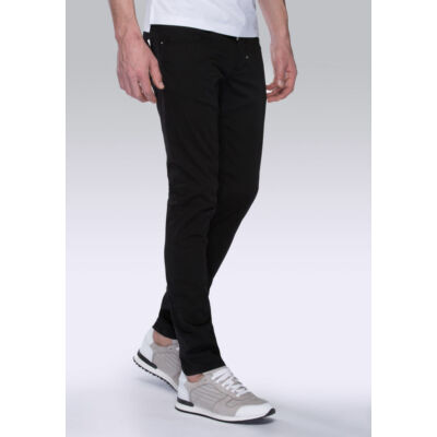 Antony Morato - mmtr002569000 Férfi fekete nadrág