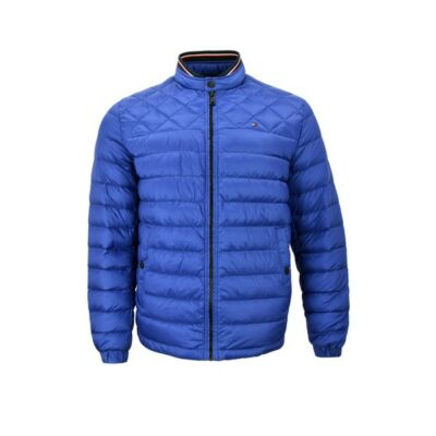 Tommy Hilfiger MW0MW07675 440 Férfi kék steppelt kabát