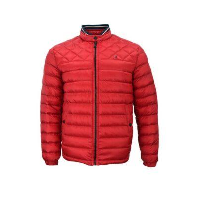 Tommy Hilfiger MW0MW07675 611 Férfi piros steppelt kabát