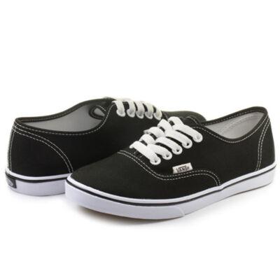 VANS férfi és női fekete utcai cipők
