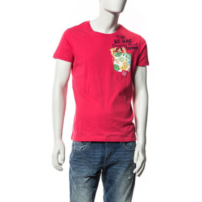 Devergo Férfi piros pólók