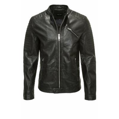 Antony Morato mmlc00020 9000 Fa200005 Férfi fekete bőr dzseki