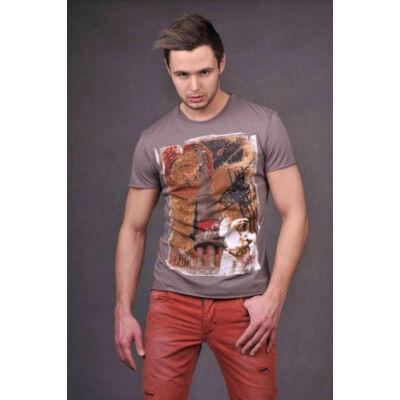Antony Morato MMKS00046 2001 férfi mintás póló