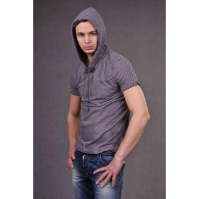 Antony Morato MMKS0057 Férfi kapucnis póló
