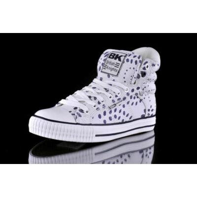 BK Női fehér utcai cipők