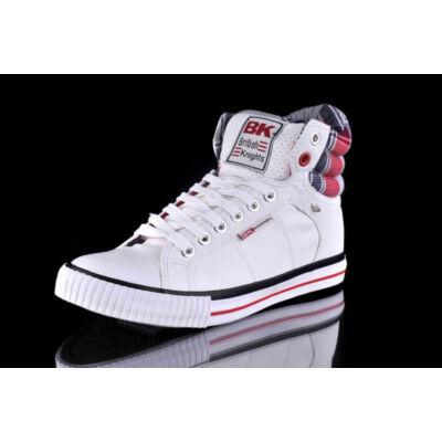 BK Férfi fehér utcai cipők