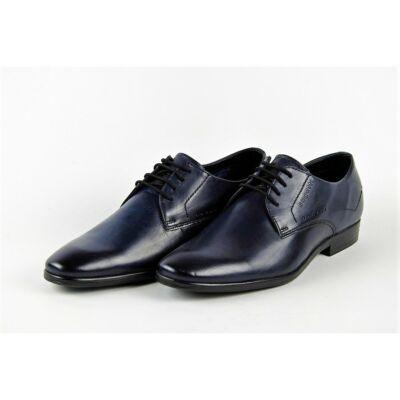 Bugatti 311 29405 1100 4100 Férfi sötétkék elegáns alkalmi cipő