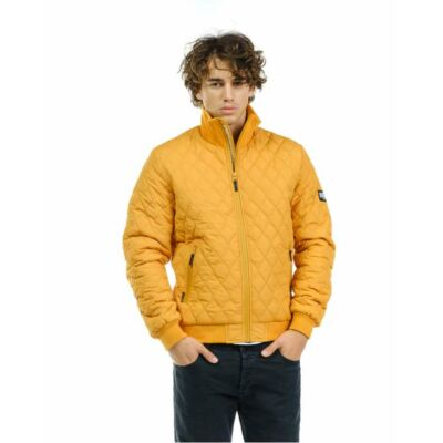 Devergo 1D927025KA1600 5 Férfi sárga steppelt dzseki