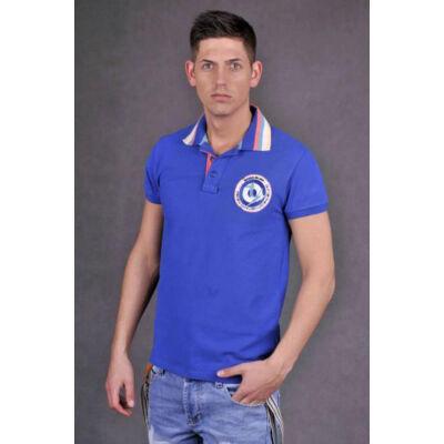 DEVERGO 4035-15 galléros színes férfi póló