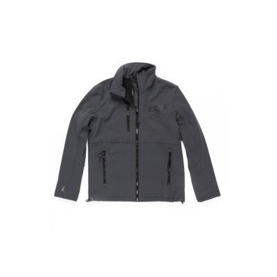 Devergo 1D727004KA1200 Sötétszürke férfi szürke polár béléses átmeneti kabát