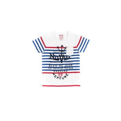 Devergo 1D414017SS0101 tengerész férfi póló