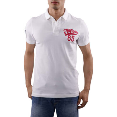 Tommy Hilfiger Denim 1957870941 112 Fehér férfi galléros póló