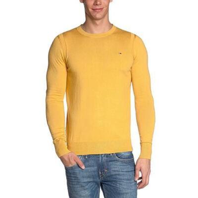 Tommy Hilfiger Férfi mustár pulóverek
