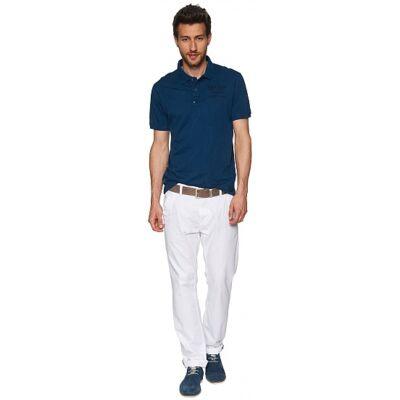 Tom Tailor 6403242 00 10 2000 fehér férfi vászonnadrág