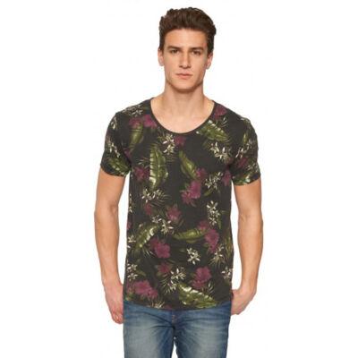 Tom Tailor 1030789 62 12 5496 Virág mintás férfi póló