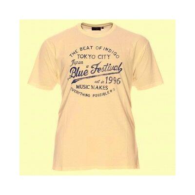 Kitaro Férfi tört fehér pólók