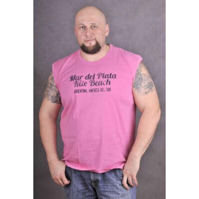 Kitaro Férfi rózsaszín trikók, atléták