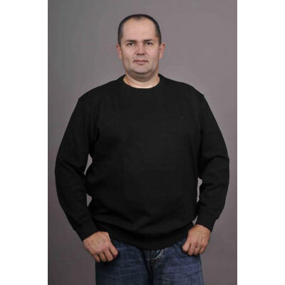 Kitaro Férfi fekete pulóverek