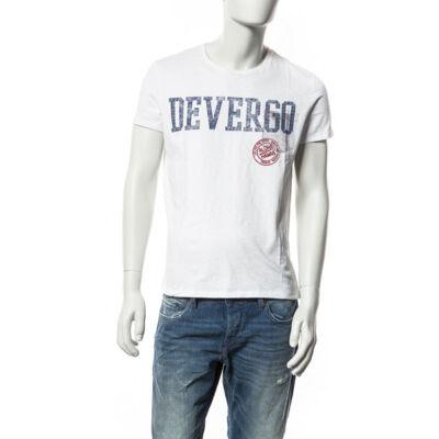 Devergo' 1D514073SS3819 férfi feliratos póló