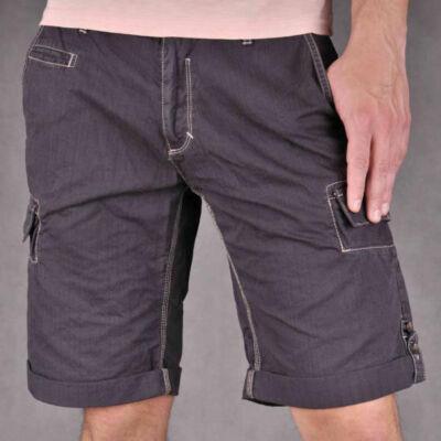 No Excess Férfi sötétszürke rövidnadrágok