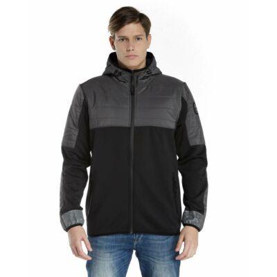 Devergo 1D827034KA1600 16 Férfi fekete átmeneti kabát