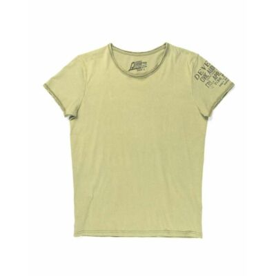 Devergo 1d914052SS0124 20 Férfi slim fit zöld póló