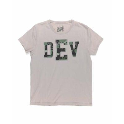 Devergo 1D814037SS0105 82 feliratos férfi póló