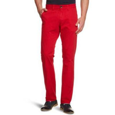 Tom Tailor Férfi piros nadrágok