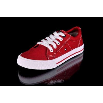 Tommy Hilfiger férfi és női piros utcai cipők