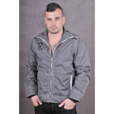 TwinLife Férfi fekete átmeneti kabátok