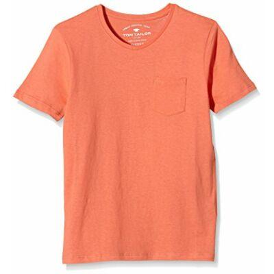Tom Tailor 1034096 40 30 narancssárga v-nyakú gyerek póló