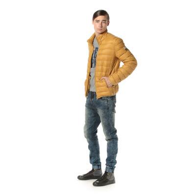 DEVERGO 1D723040KA1600 50 Férfi Mustár sárga átmeneti kabát