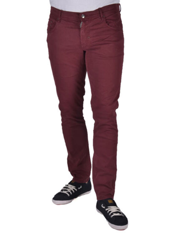 Antony Morato Férfi bordó nadrágok