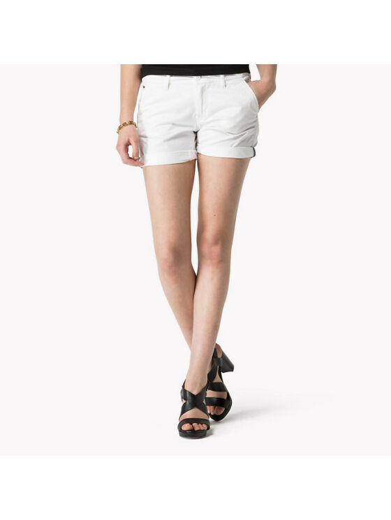 Tommy Hilfiger Női fehér shortok, rövidnadrágok