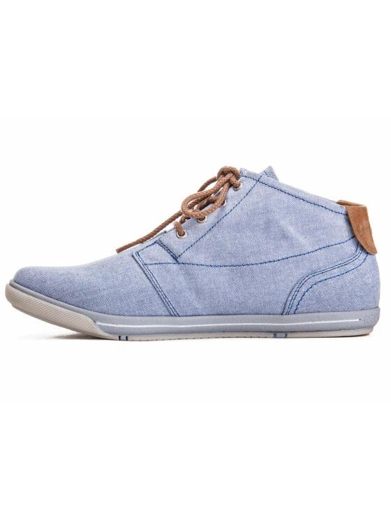 Mustang Női kék utcai cipők