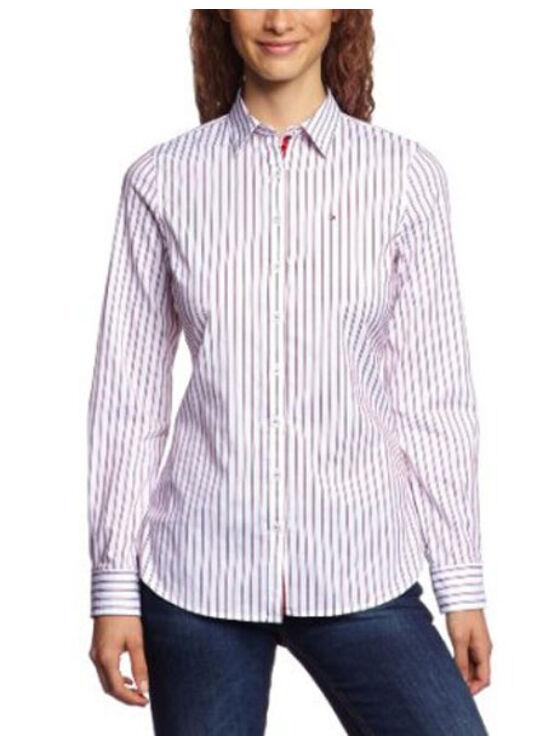 Tommy Hilfiger Női bordó ingek