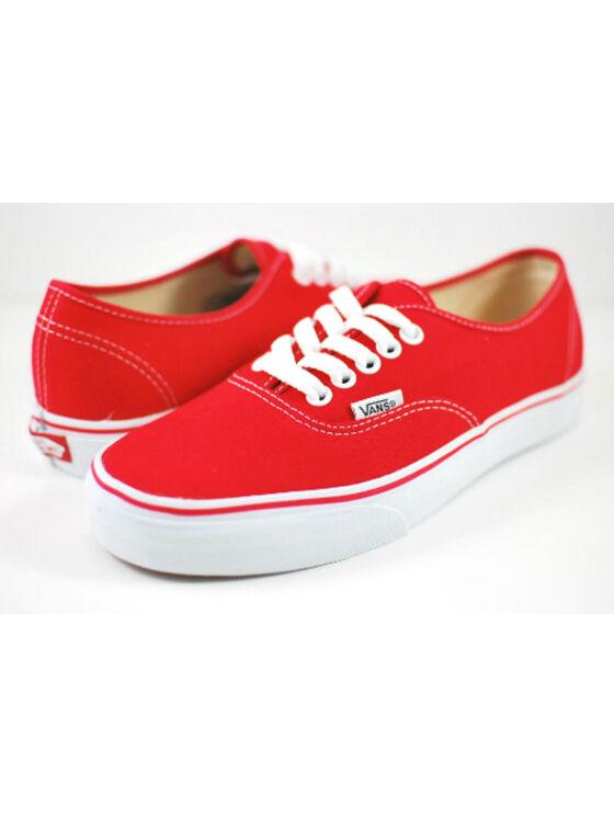 VANS férfi és női piros utcai cipők