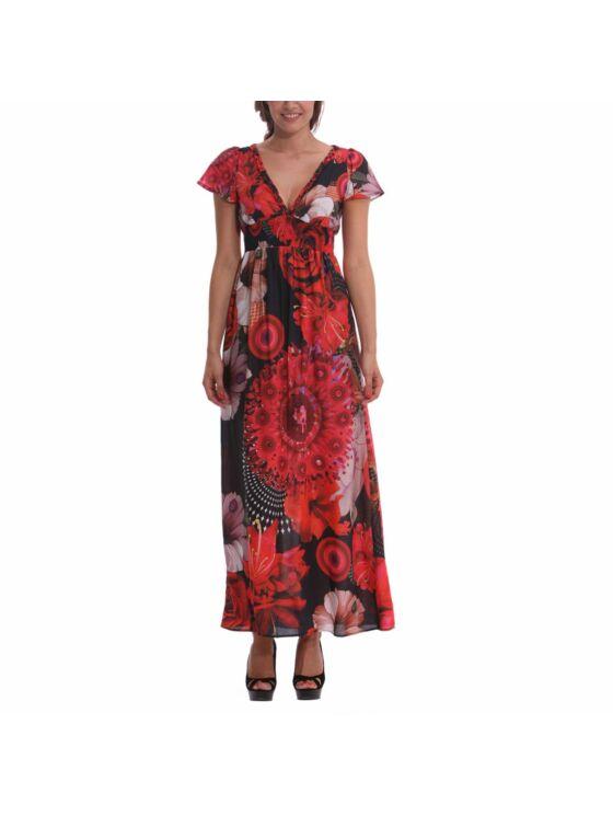 Desigual Női piros ruhák, tunikák és overálok