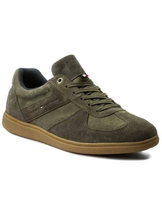 Tommy Hilfiger Férfi zöld utcai cipők
