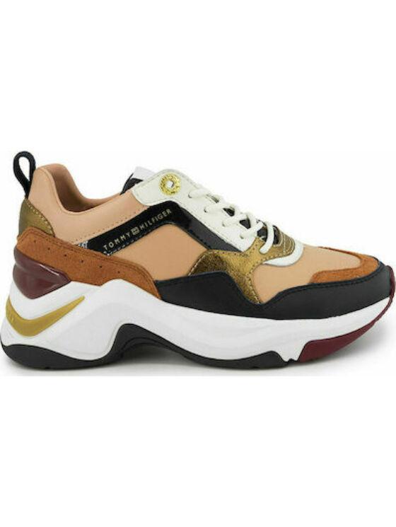 Tommy Hilfiger Női barna utcai cipők