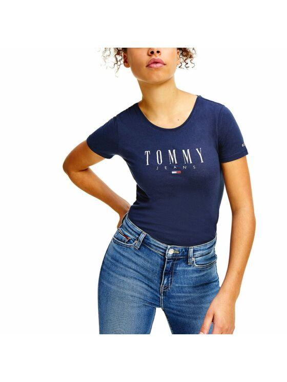 Tommy Hilfiger Női sötékék felsők, blúzok és trikók