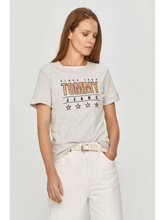 Tommy Hilfiger Női szürke felsők, blúzok és trikók