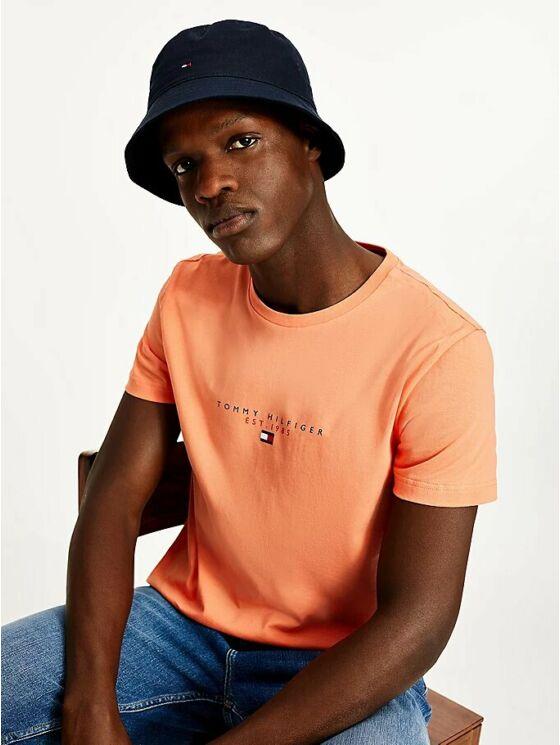 Tommy Hilfiger Férfi narancssárga pólók