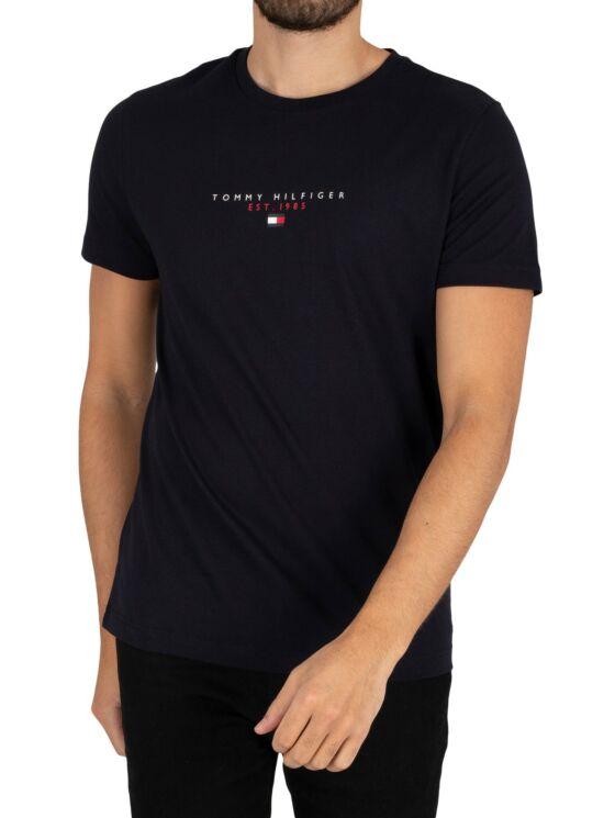 Tommy Hilfiger Férfi kék pólók