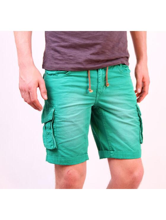 No Excess Férfi zöld rövidnadrágok