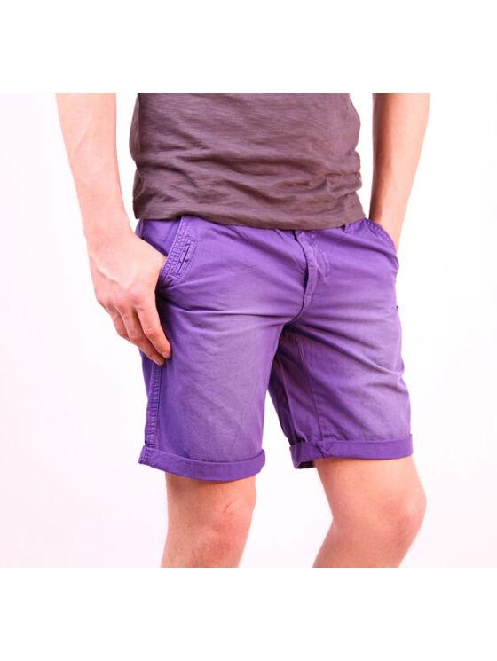 No Excess Férfi lila rövidnadrágok