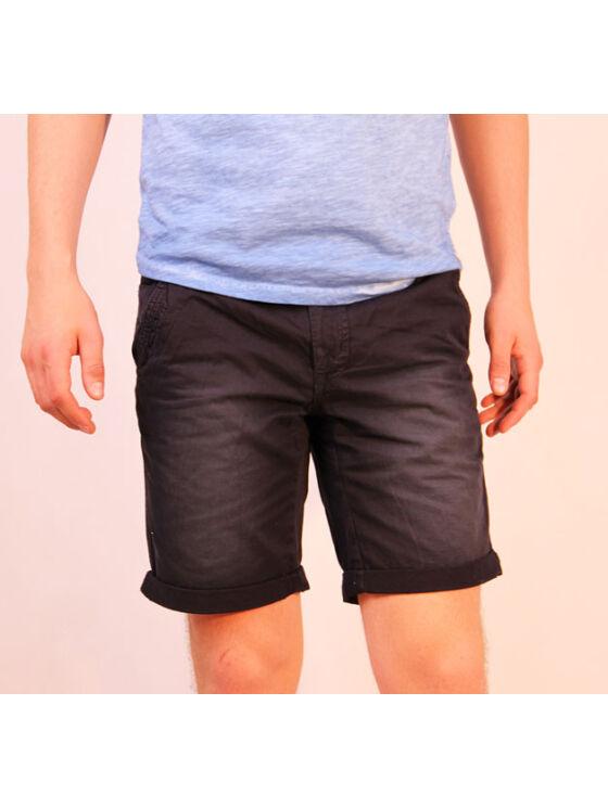 No Excess Férfi fekete rövidnadrágok