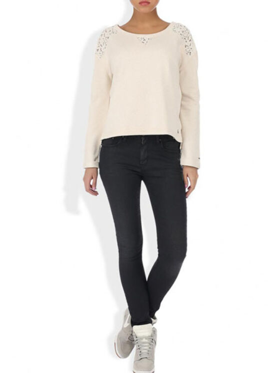 Tommy Hilfiger Női fehér pulóverek