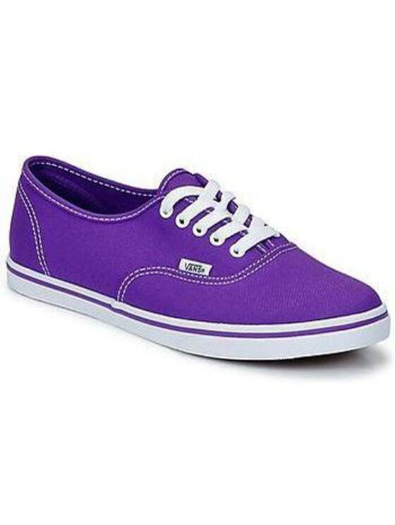 VANS férfi és női lila utcai cipők